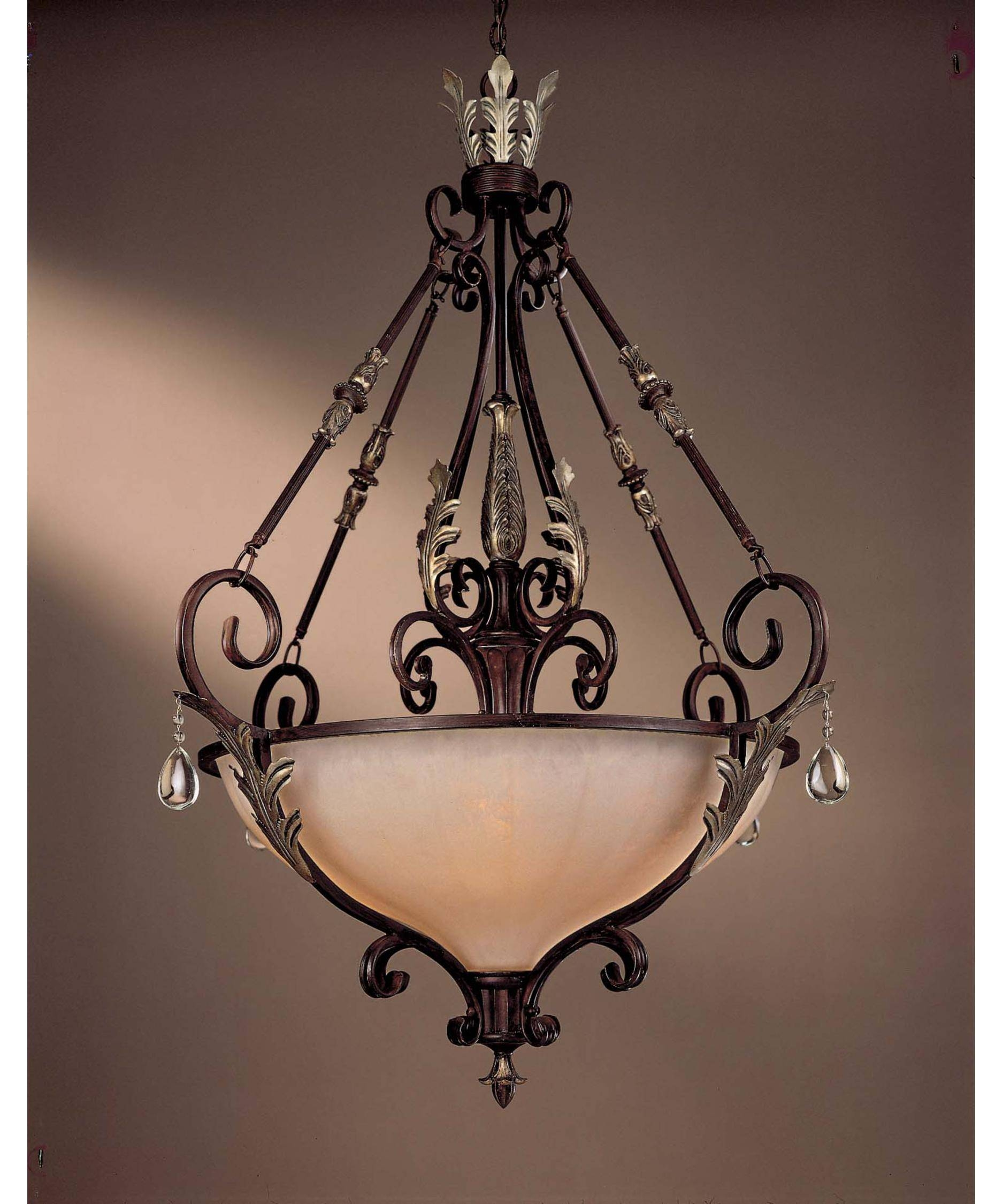 Minka Lavery 771 Bellasera 42 Inch Wide 5 Light Large Pendant pertaining to Minka Lavery Pendant Lights (Image 5 of 15)