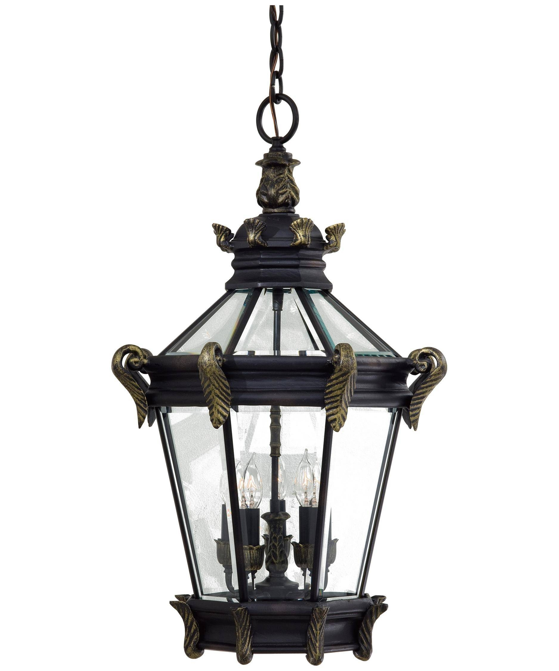 Minka Lavery 8934 Stratford Hall 19 Inch Wide 5 Light Outdoor throughout Minka Lavery Pendant Lights (Image 7 of 15)