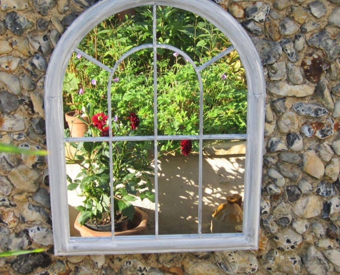 Mirror : 22 Best Trompe L'oeil Trellis Images On Pinterest throughout Garden Mirrors (Image 13 of 15)
