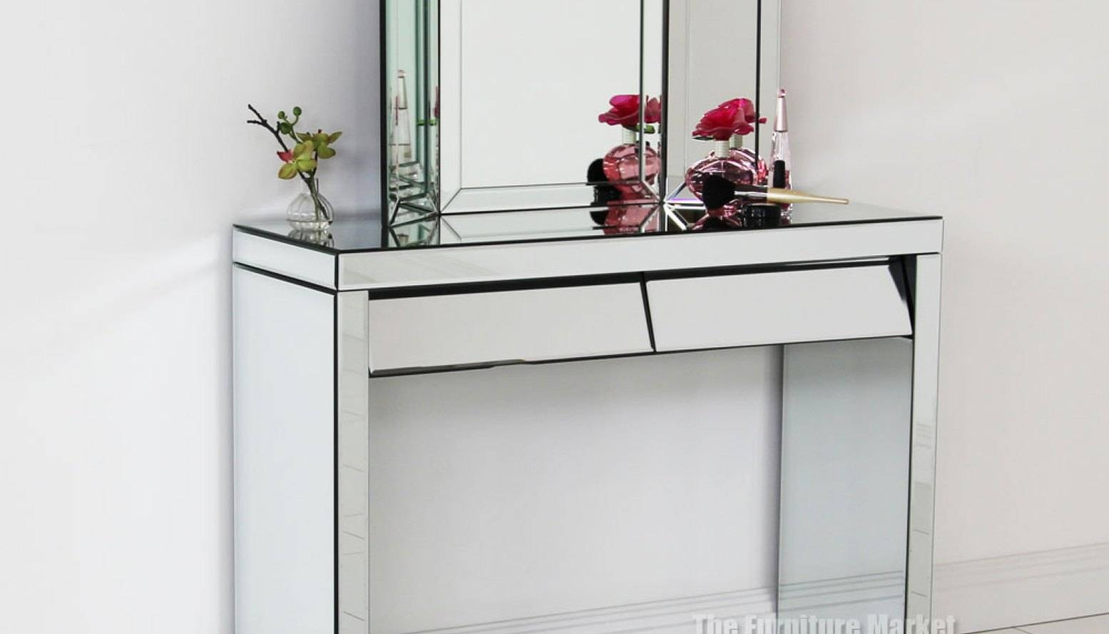 Mirror : Art Deco Mirrored Dressing Table Superior Art Deco in Art Nouveau Dressing Table Mirrors (Image 9 of 15)