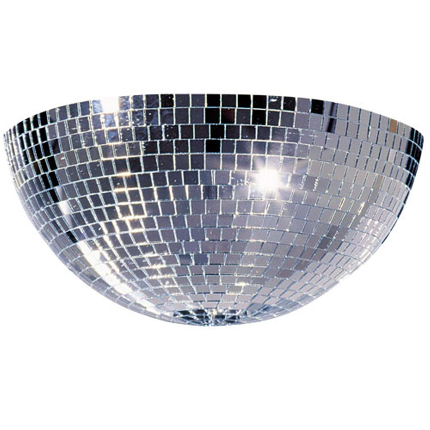 Mirror Ball 20 Inch Half Round + | Pssl with Disco Ball Ceiling Lights Fixtures (Image 10 of 15)
