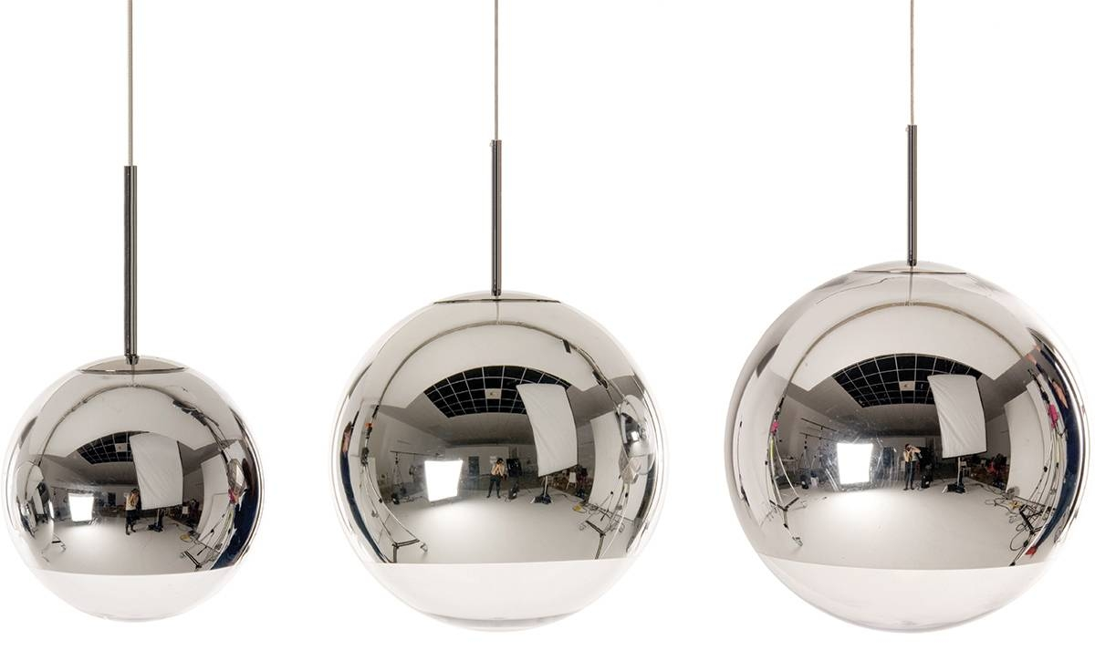 Mirror Ball Pendant Light - Hivemodern pertaining to Disco Ball Ceiling Lights Fixtures (Image 11 of 15)