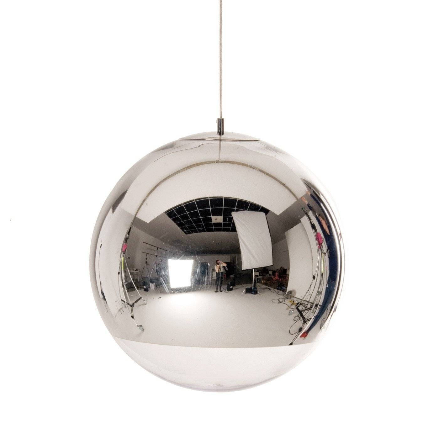 Mirror Ball Pendant Light throughout Disco Ball Ceiling Lights Fixtures (Image 13 of 15)