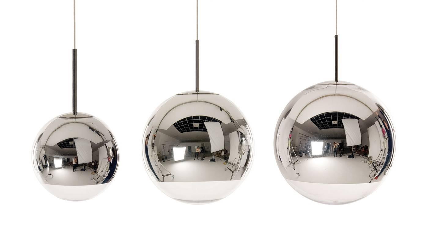 Mirror Ball Pendant Light throughout Disco Ball Pendants (Image 5 of 15)