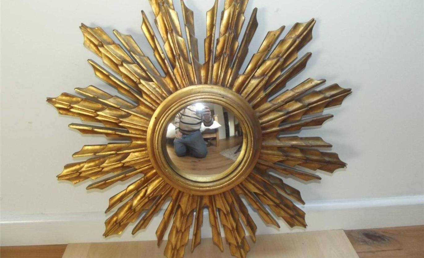 Mirror : Bronze Starburst Mirror Dazzle Bronze Starburst Mirror intended for Starburst Convex Mirrors (Image 9 of 15)