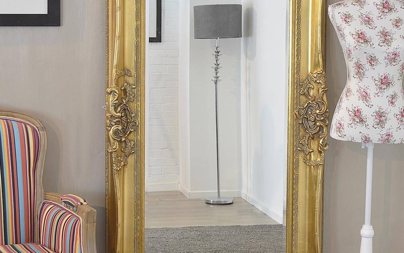 Mirror : Decorative Gold Mirrors. Gold Decorative Framed Bevelled with regard to Large Ornate Gold Mirrors (Image 10 of 15)