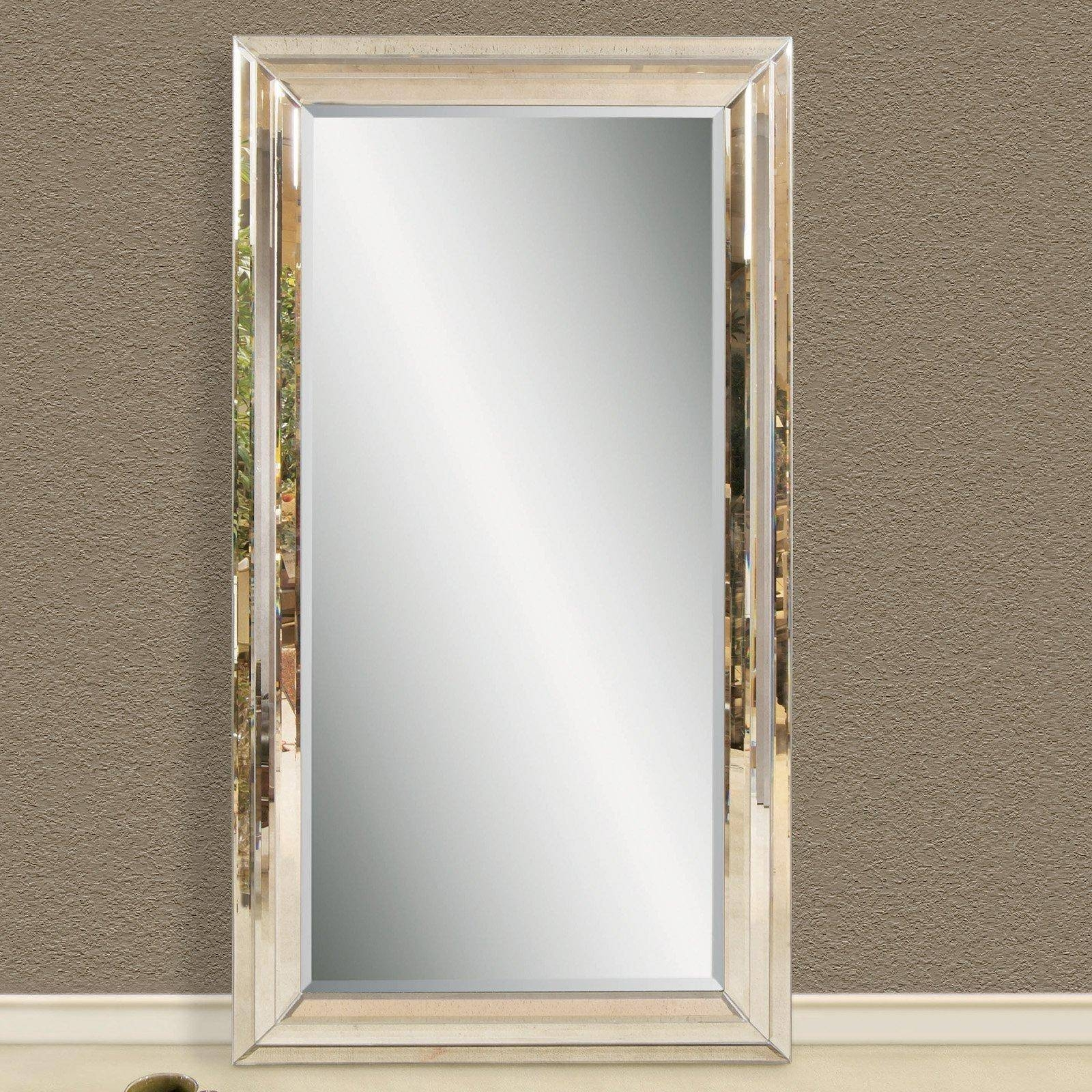 Mirror : Extra Large Leaning Floor Mirrors | Floor Decoration in Extra Large Full Length Mirrors (Image 12 of 15)
