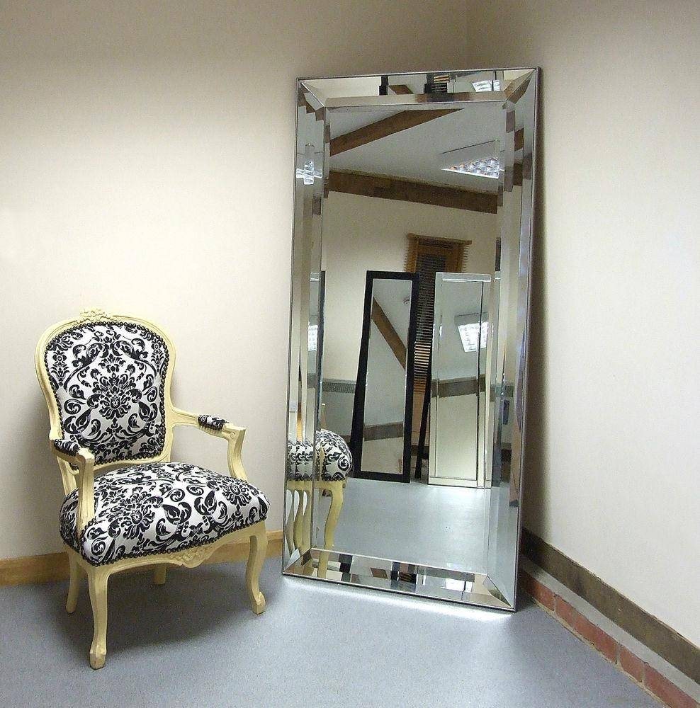 Mirror : Extra Large Leaning Floor Mirrors | Floor Decoration with Extra Large Full Length Mirrors (Image 14 of 15)