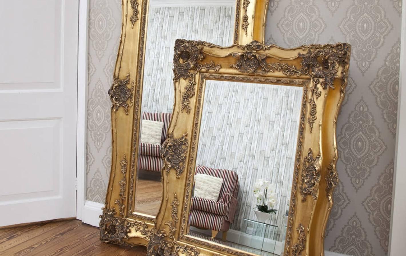 15 The Best Rococo Floor Mirrors