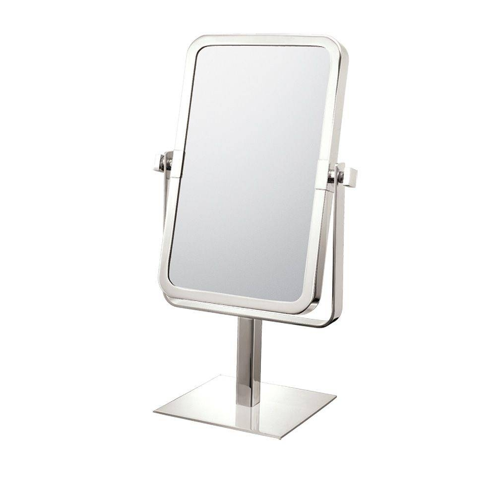Mirror Image Rectangular Free Standing Mirror 80643/80673 For Free Standing Table Mirrors (View 5 of 15)