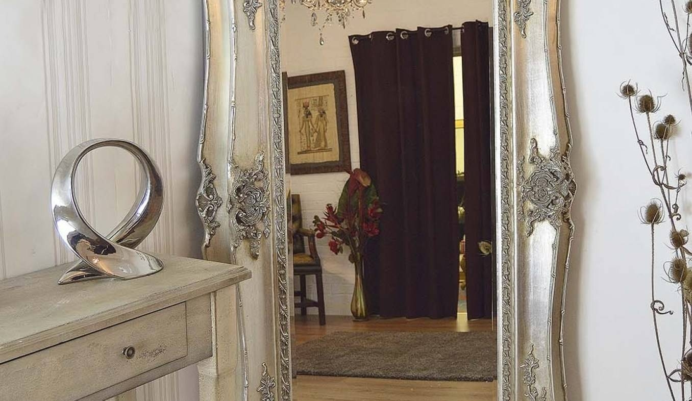 Mirror : Large Floor Standing Mirrors Beguiling' Interesting Floor Intended For Big Floor Standing Mirrors (View 13 of 15)