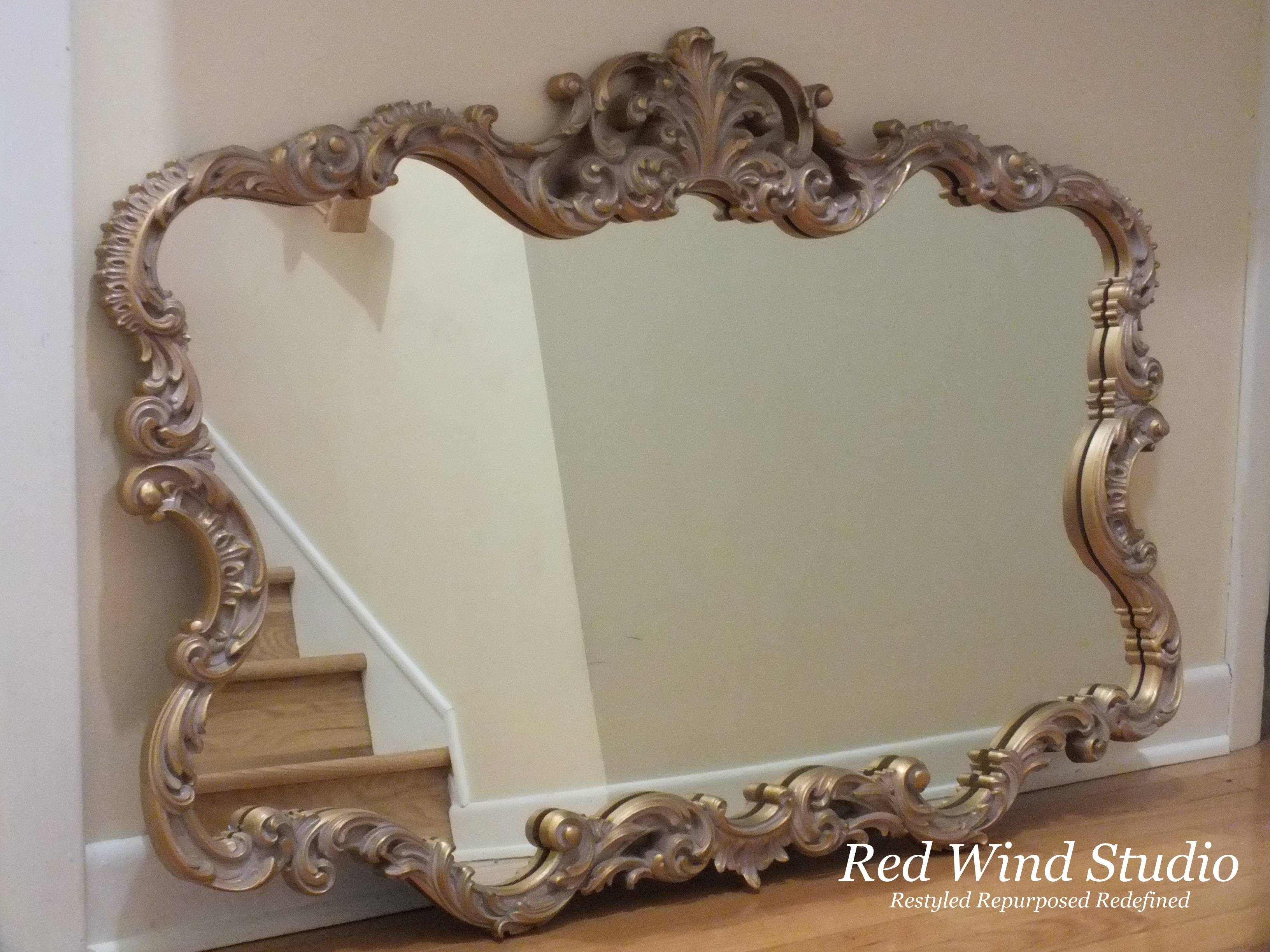 Mirror Mirror | Redwindstudio Intended For Large Gold Ornate Mirrors (View 9 of 15)