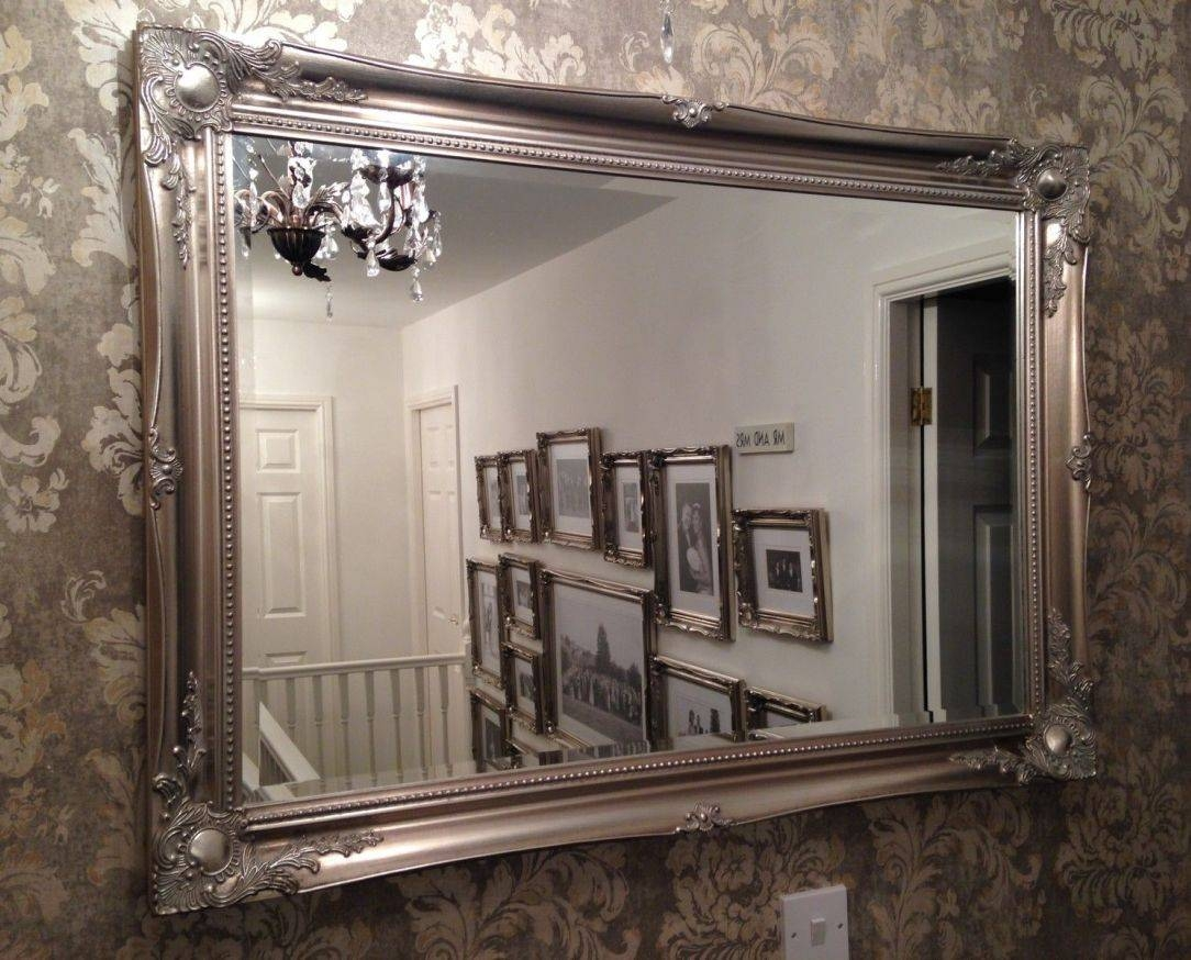 Mirror : Ornate Mirrors For Sale 125 Awesome Exterior With Large within Silver Ornate Mirrors (Image 7 of 15)