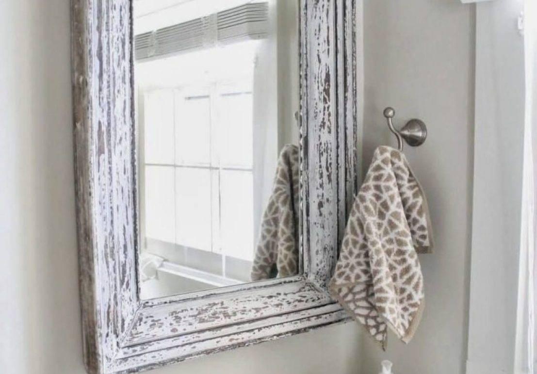 Mirror : Shabby Chic White Mirrors Entertain Shabby Chic Round throughout Shabby Chic Free Standing Mirrors (Image 13 of 15)