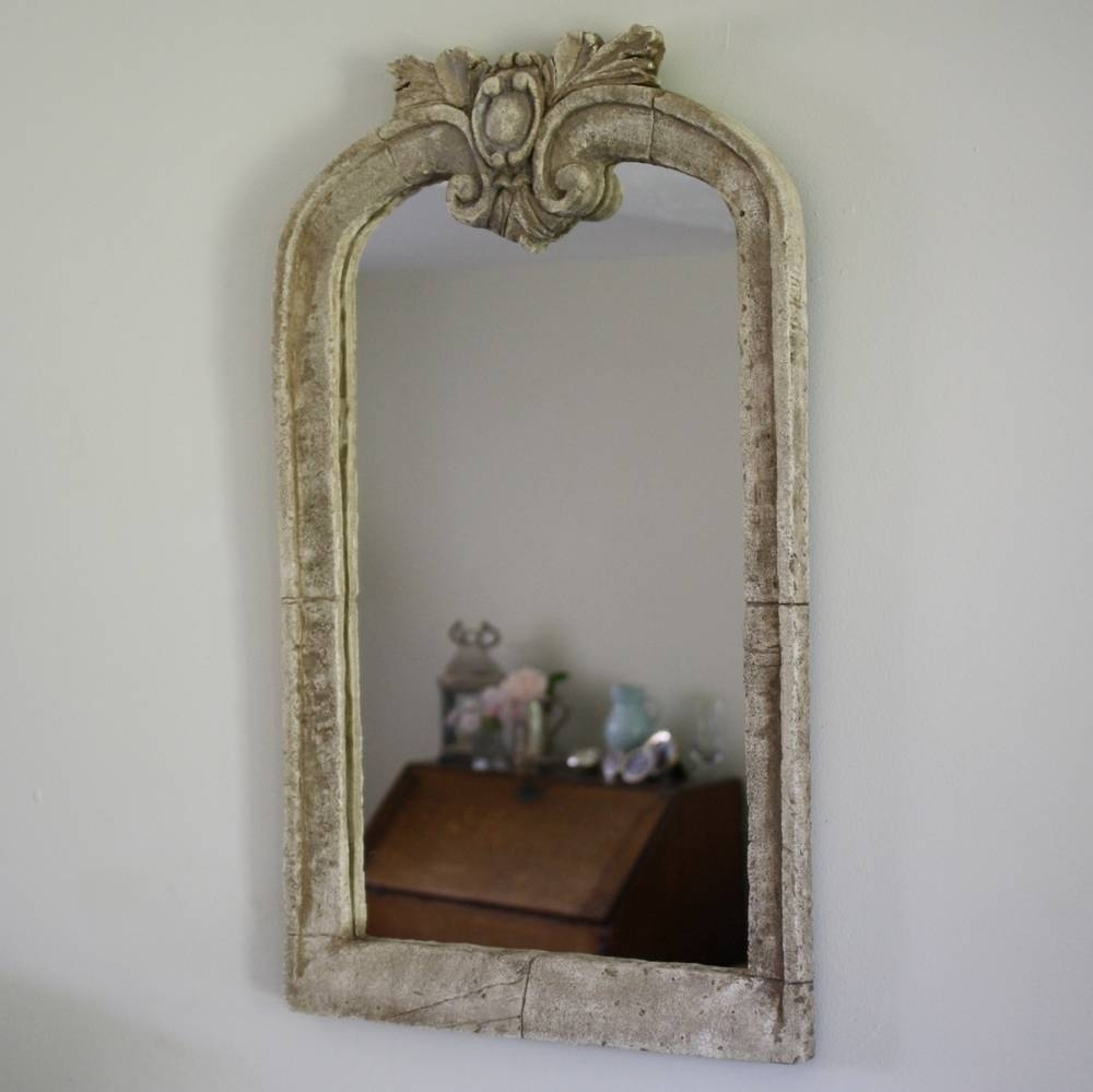 Mirror : Silver Baroque Mirror | Large Mirrors For Sale Panfili with Silver Baroque Mirrors (Image 10 of 15)