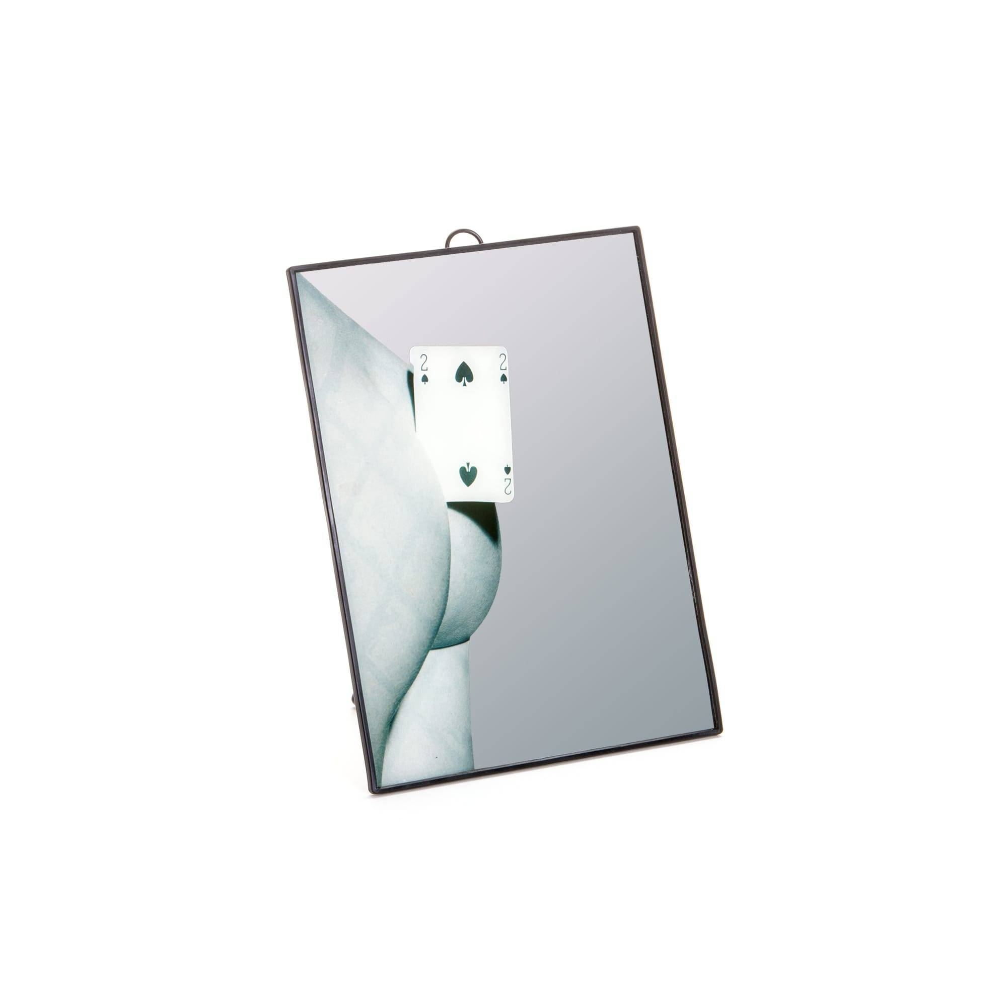 Mirror Small Two Of Spades – Seletti pertaining to Small Mirrors (Image 5 of 15)