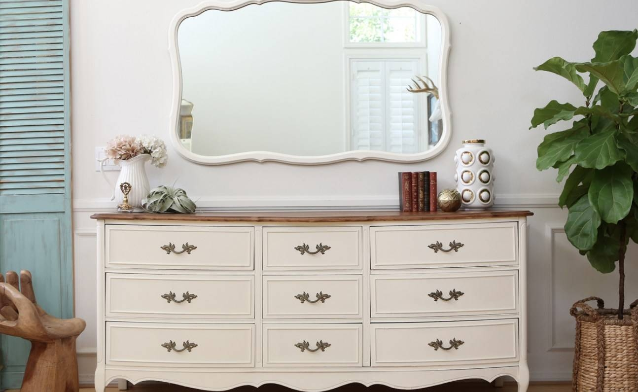 Mirror : Vintage Shabby Chic Mirrors Remarkable Old Shabby Chic with Chic Mirrors (Image 6 of 15)