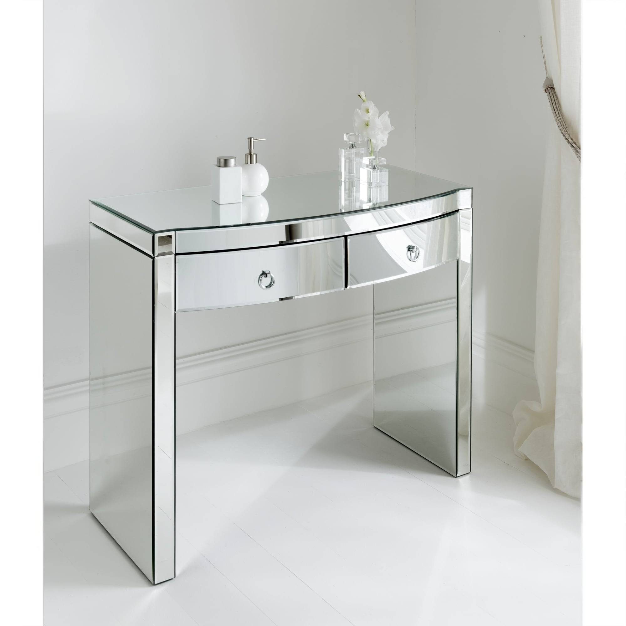 Mirrored Console Table regarding Mirrors Console Table (Image 10 of 15)