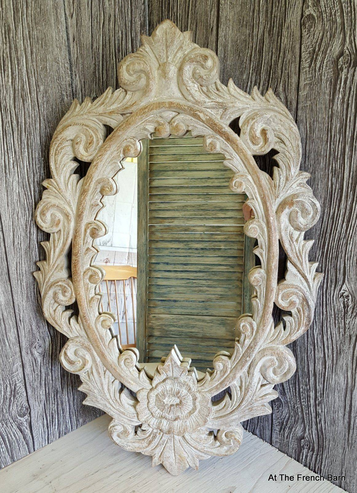 Mirrors - A Range Of Classic, Ornate And French Style within Ornate Vintage Mirrors (Image 6 of 15)