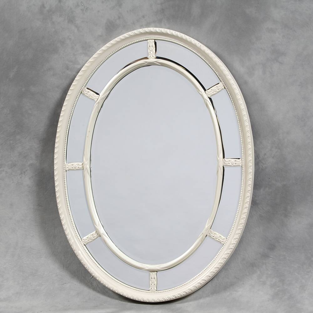 Mirrors And More » Wall Mirrors – Medium inside Oval Cream Mirrors (Image 10 of 15)