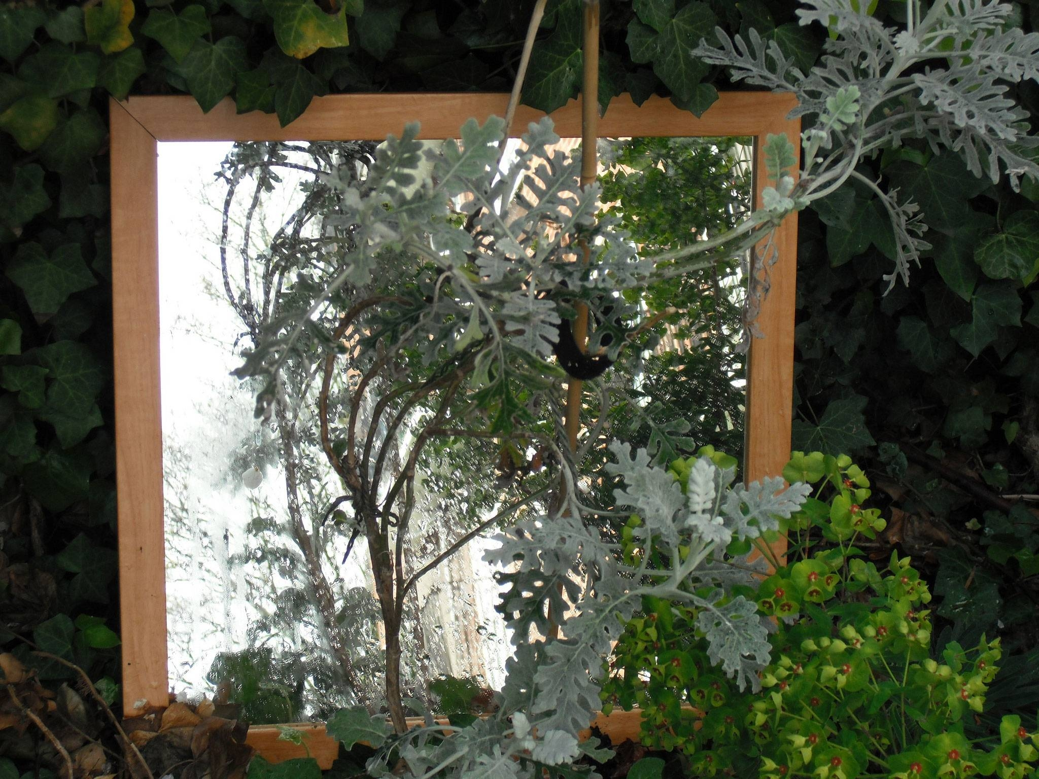 Mirrors For Garden Use – Information About Using Garden Mirrors Inside Large Garden Mirrors (View 14 of 15)