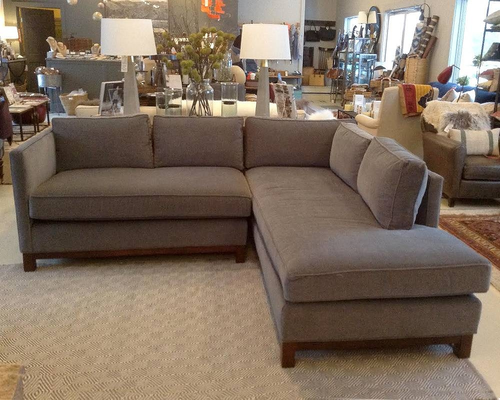 Mitchell Gold Clifton Sectional Sofa. Best West Elmus Shelter intended for Mitchell Gold Clifton Sectional Sofas (Image 13 of 15)