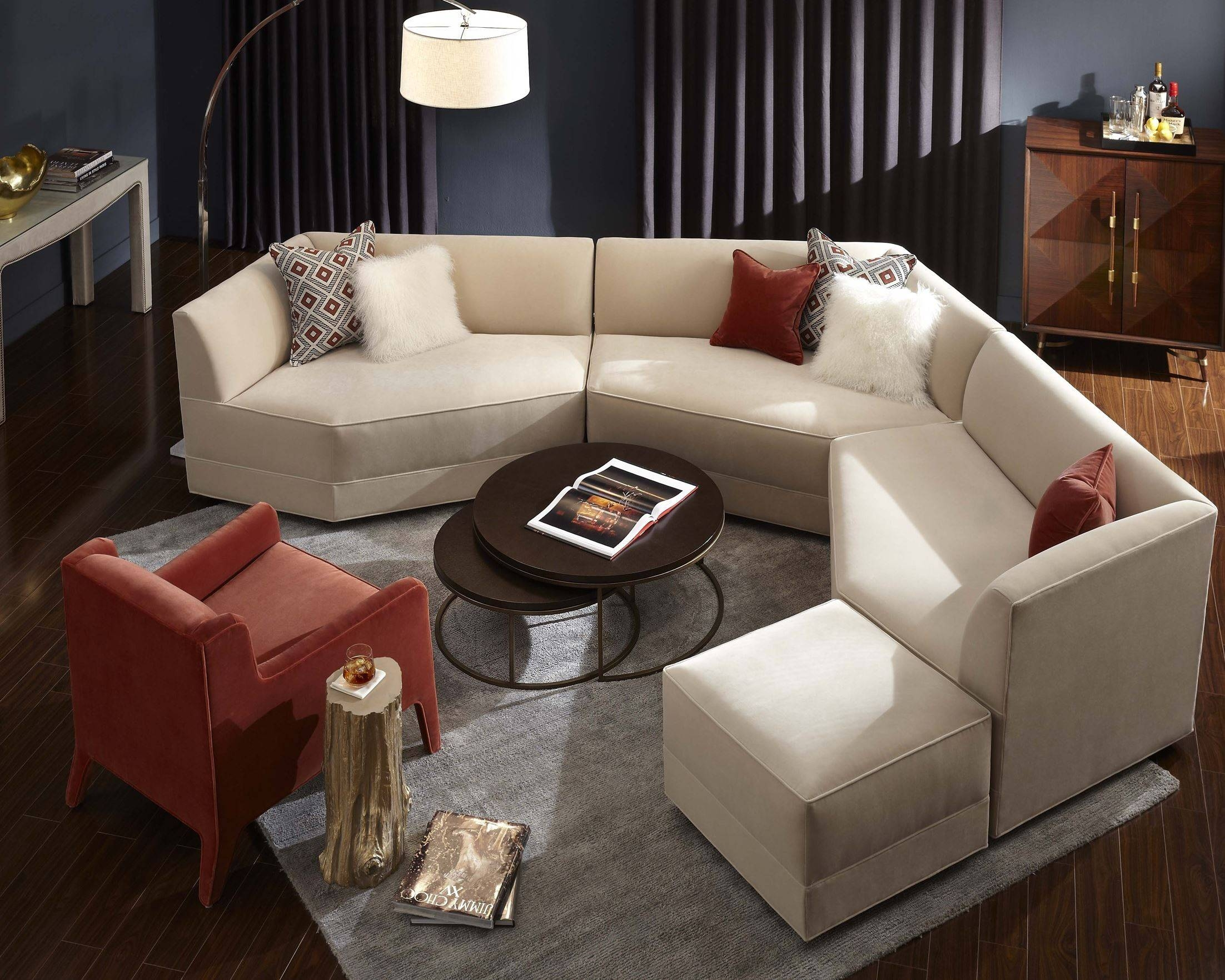 Mitchell Gold Sectional Sofa 75 With Mitchell Gold Sectional Sofa with Mitchell Gold Sectional Sofas (Image 11 of 15)