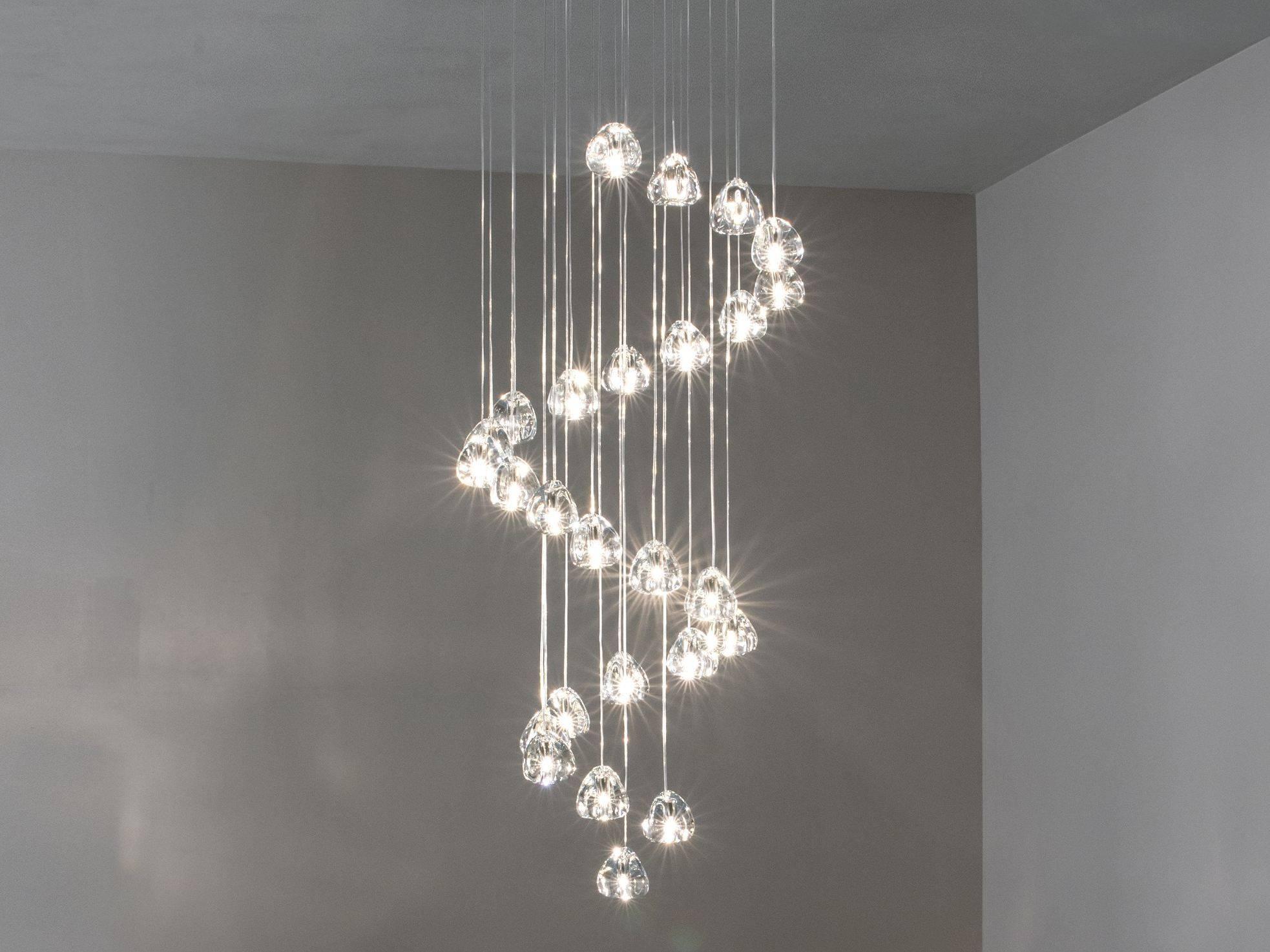 Mizu | Crystal Pendant Lampterzani Design Nicolas Terzani with Mizu Lighting (Image 10 of 15)