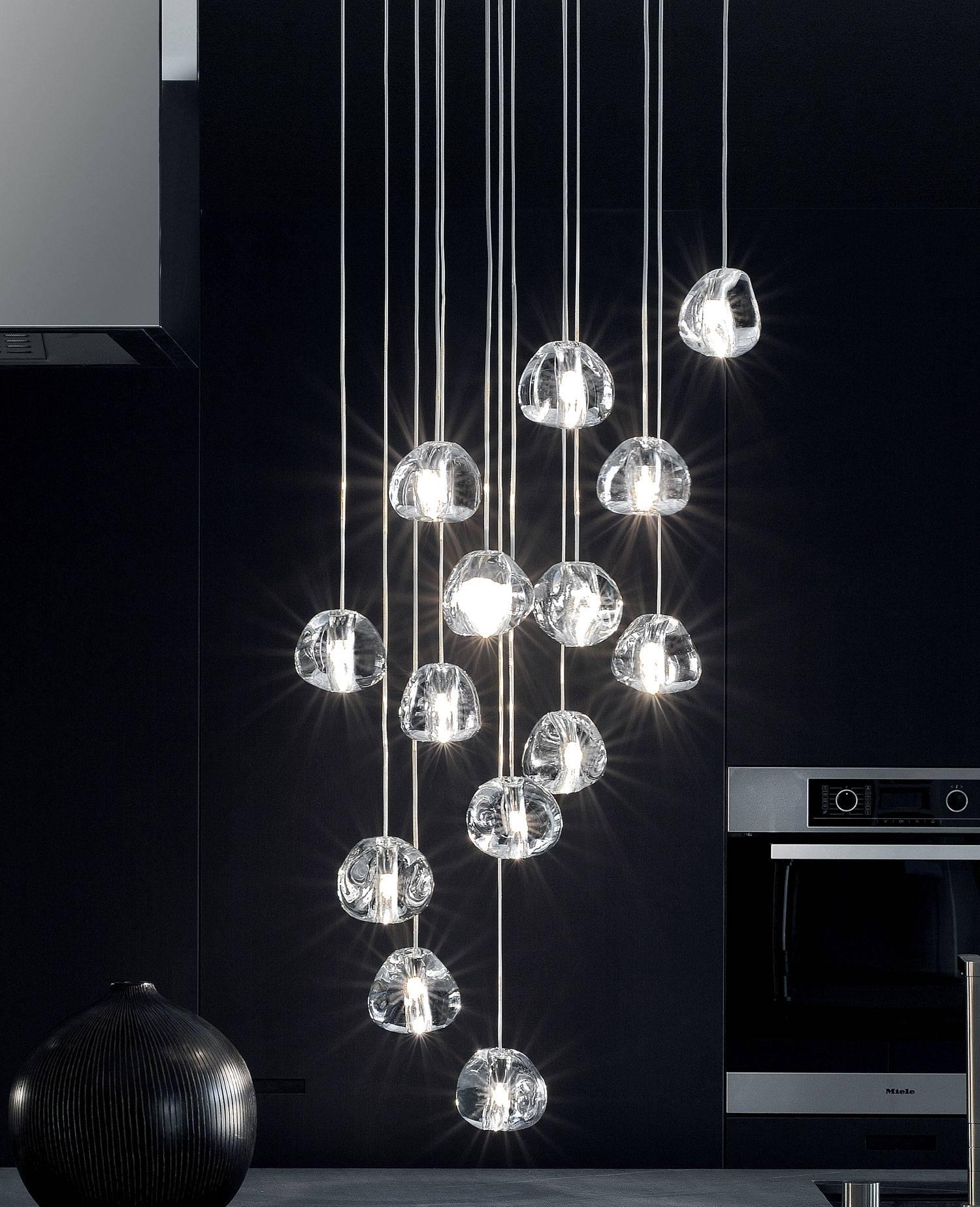 Mizu R15S Pendant Lightterzani | Interior-Deluxe regarding Mizu Lighting (Image 7 of 15)