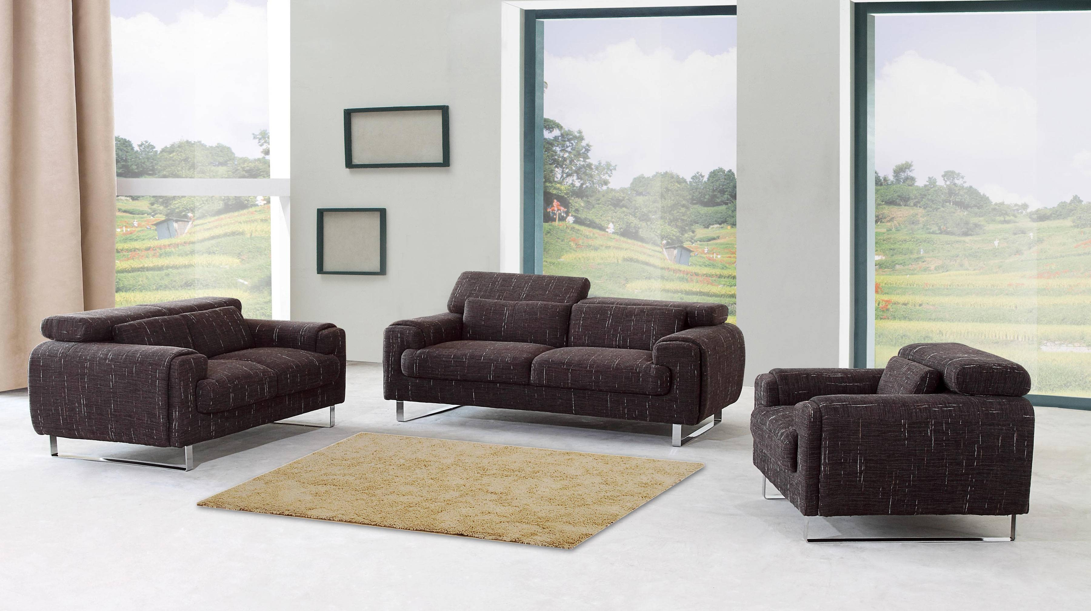 Modern Living Room Sets, Mesmerizing 50 Modern Living Room intended for Living Room Sofa Chairs (Image 13 of 15)
