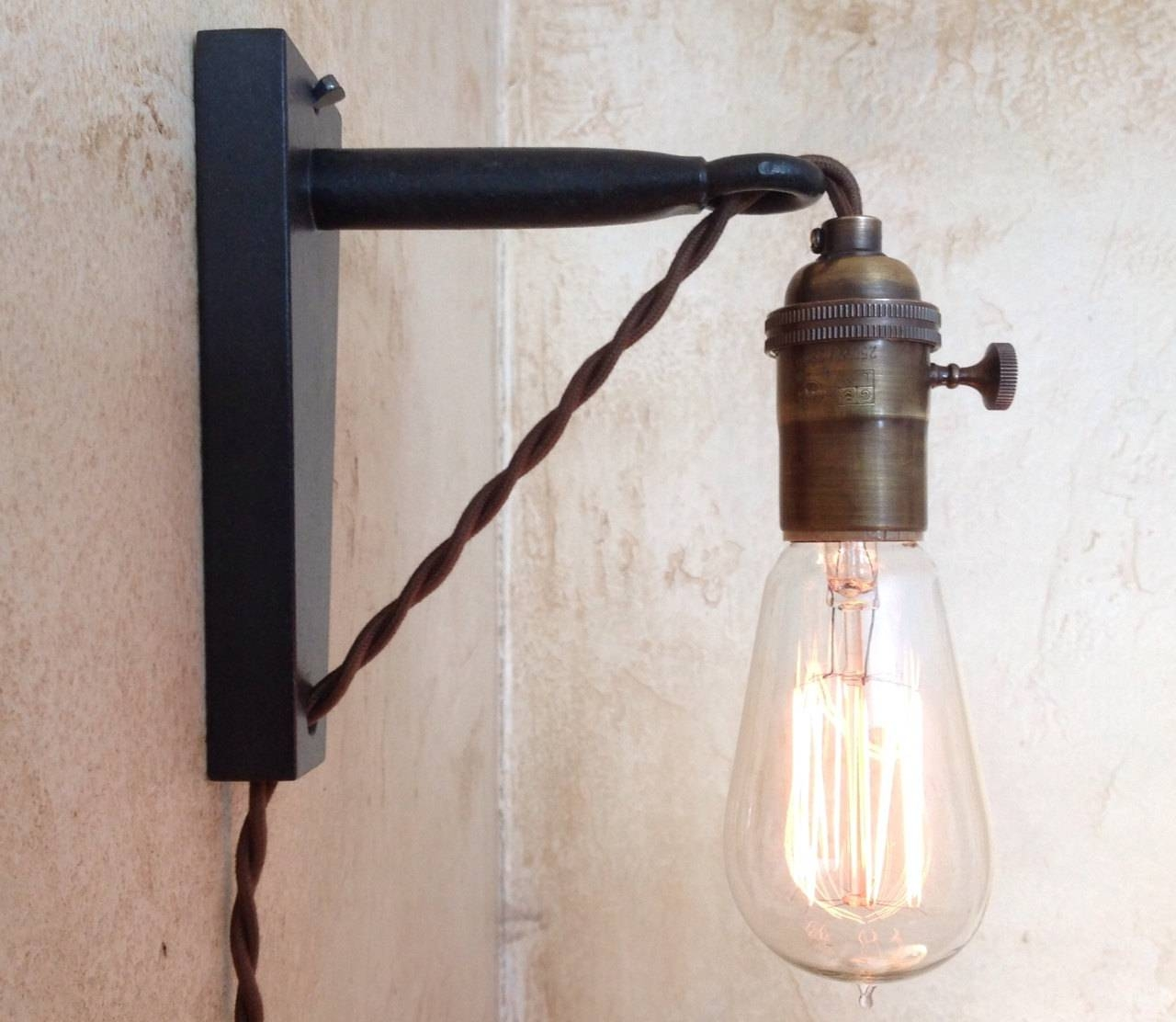 Modern Plug In Hanging Lamp | Med Art Home Design Posters In Hanging Plugin Pendant Lights (View 14 of 15)