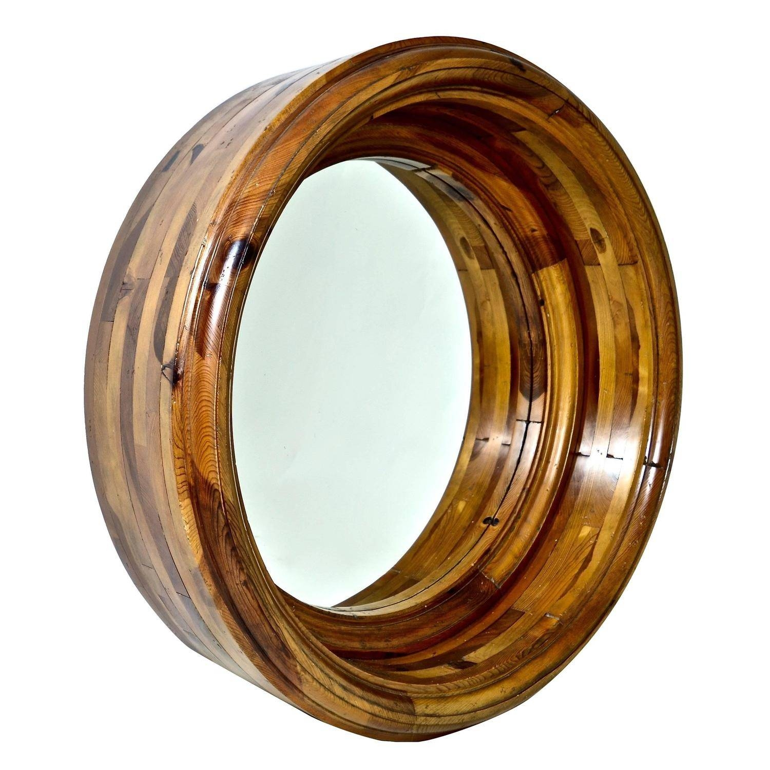 Monumental Ralph Lauren Porthole Mirror For Sale At 1Stdibs in Porthole Mirrors (Image 4 of 15)