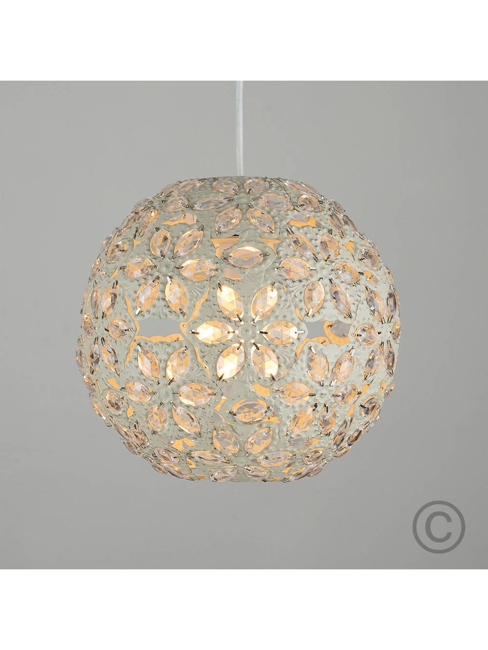 Moroccan Style Metal Ceiling Pendant Shade With Acrylic Jewel for Moroccan Style Pendant Ceiling Lights (Image 12 of 15)