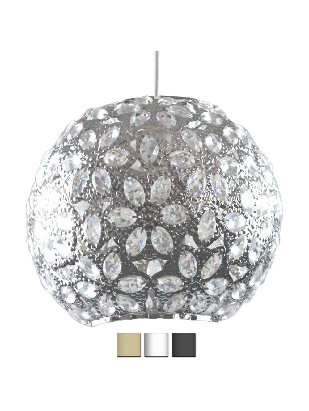 Moroccan Style Metal Ceiling Pendant Shade With Acrylic Jewel with Moroccan Style Pendant Ceiling Lights (Image 13 of 15)