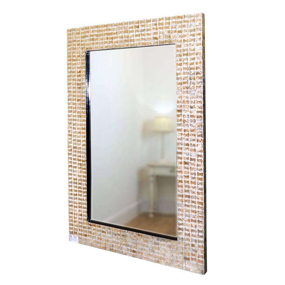 Mosaic Mirror Frame,mother Of Pearl Shell Inlaid,mdf Mould,code with Mother of Pearl Wall Mirrors (Image 13 of 15)