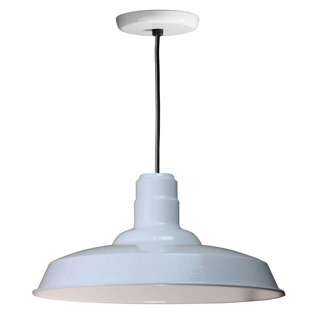 Multicolored - Blue - Pendant Lights - Hanging Lights - The Home Depot in Threshold Pendant Lights (Image 11 of 15)