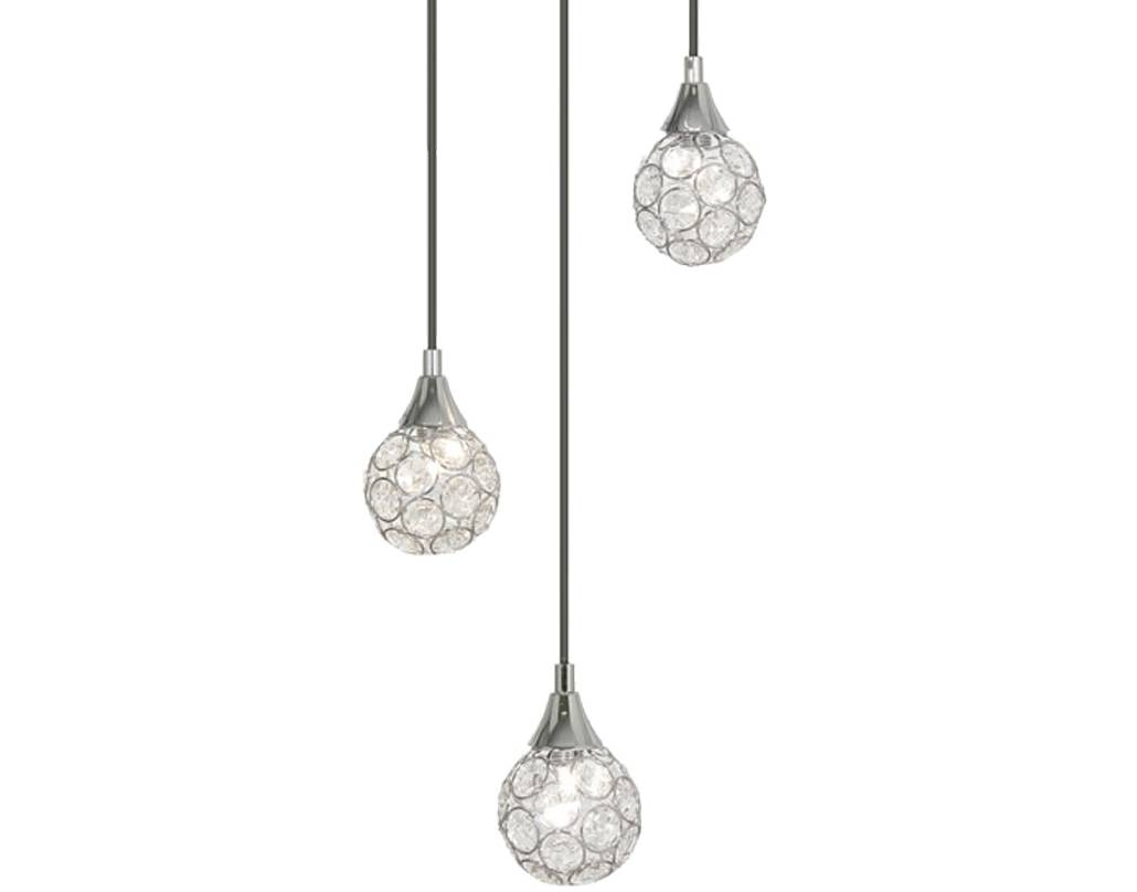 Multiple Lamp Pendants From Easy Lighting with regard to 3 Lights Pendant Fitter (Image 7 of 15)