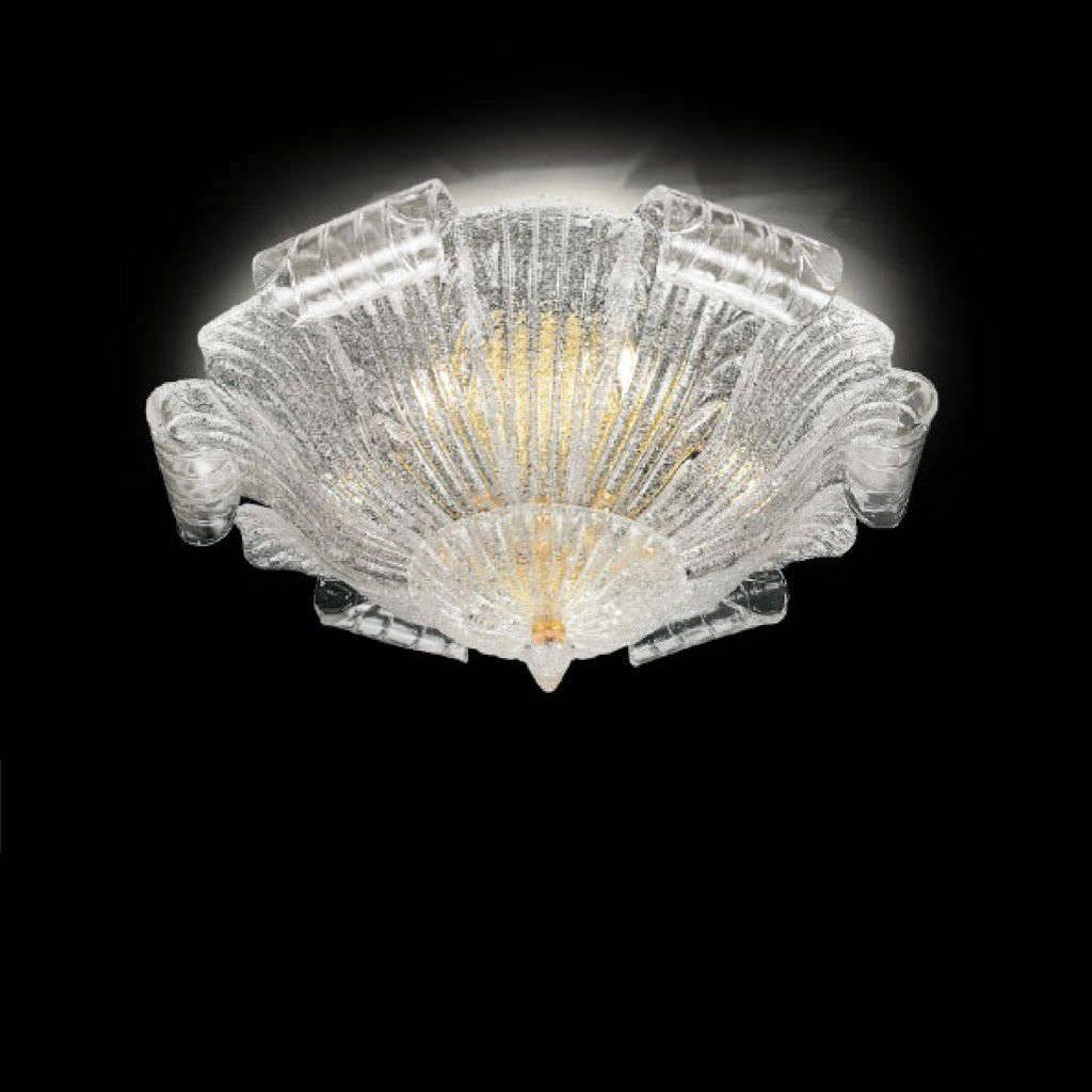 Murano Glass Ceiling Light - The World Finest Glass Ceiling intended for Venetian Glass Ceiling Lights (Image 10 of 15)