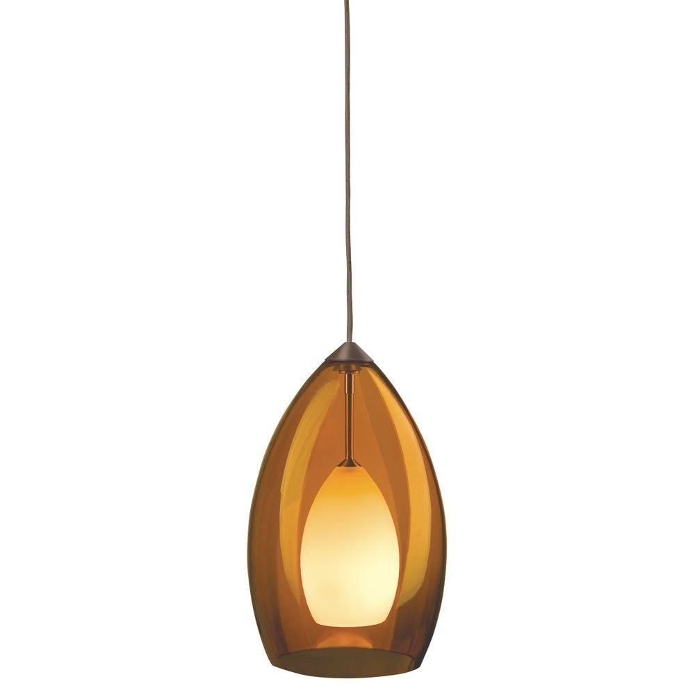 Murano Glass Mini-Pendant | 700-Fjfiraz/700-Fj4Rfz Kit with Art Glass Mini Pendant Lights (Image 12 of 15)