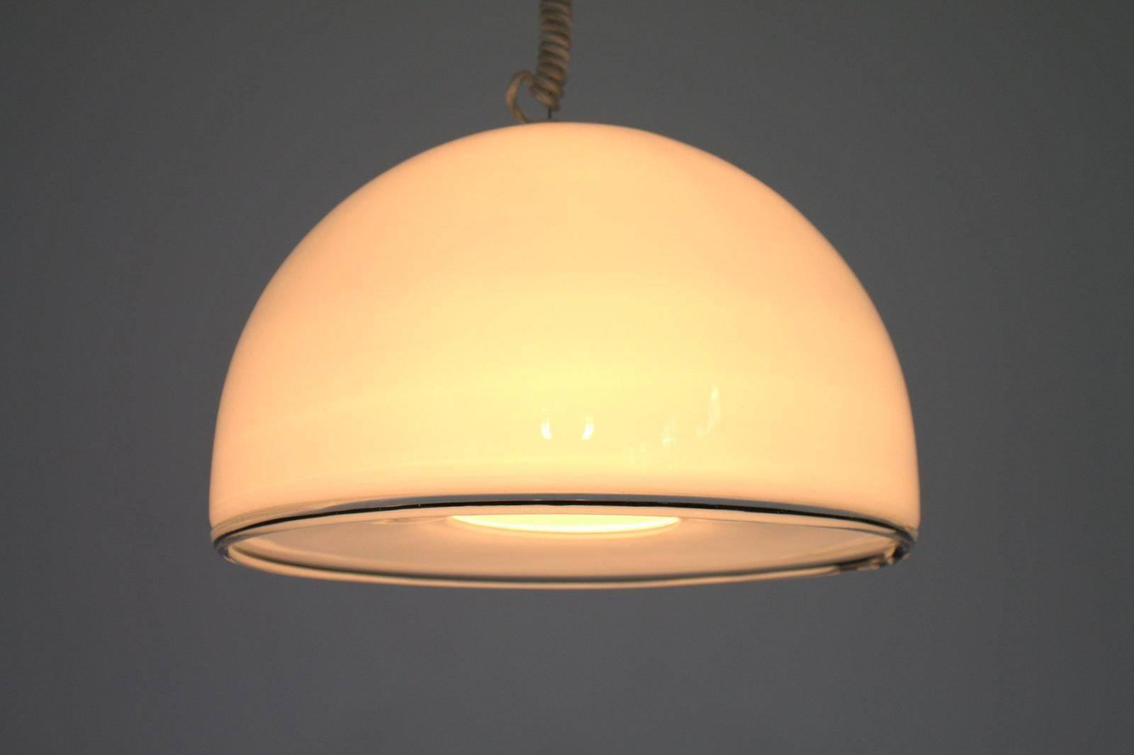 Murano Glass Pendant Lamp From Vetri, 1980s For Sale At Pamono In Murano Glass Pendant Lights (View 9 of 15)