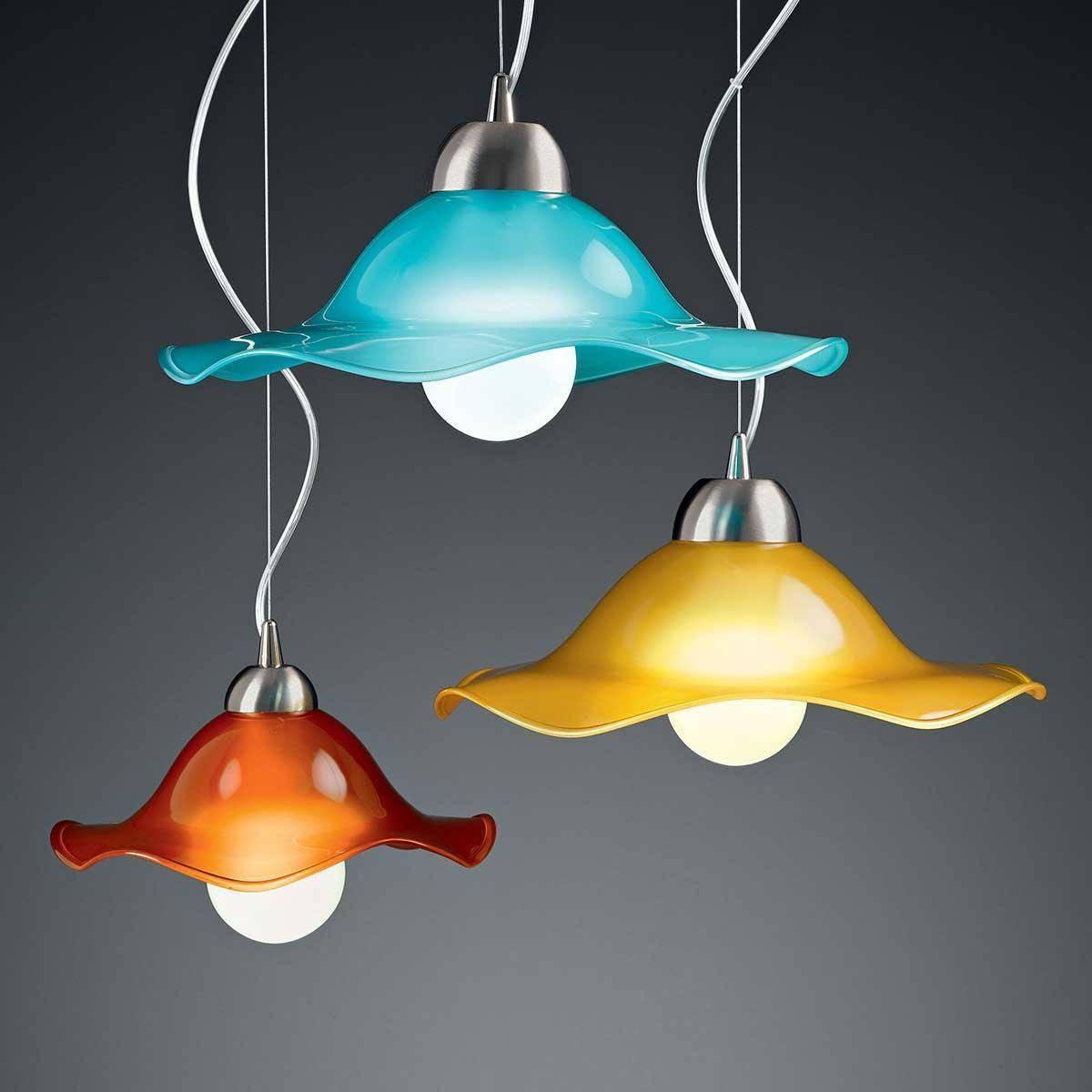 Murano Glass Pendant Lights - Murano Glass Chandeliers with Murano Glass Pendant Lights (Image 8 of 15)