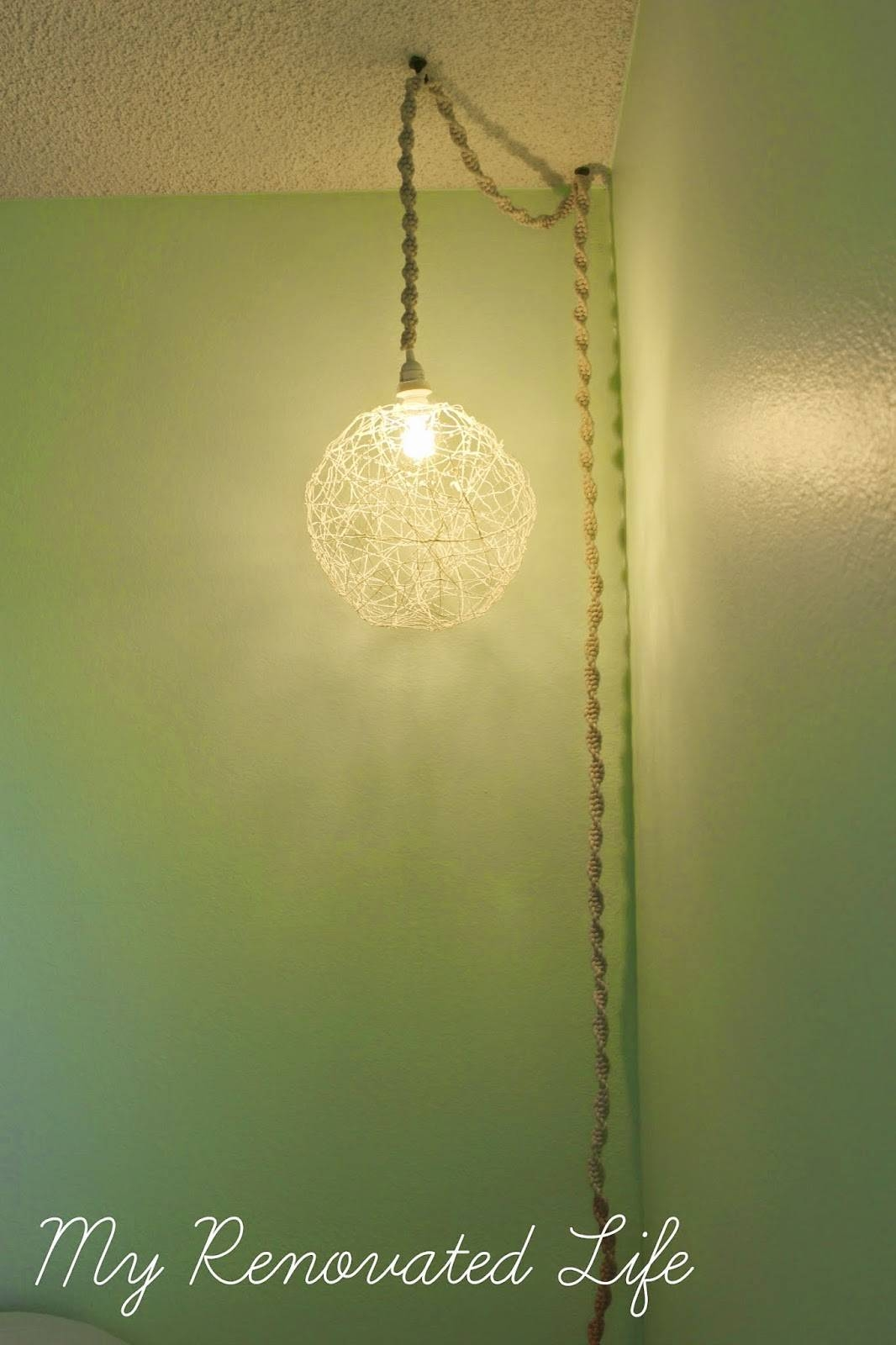 My Renovated Life: Step 5: I'm Not A Girl {Babygirl's Room Design for Macrame Pendant Lights (Image 10 of 15)