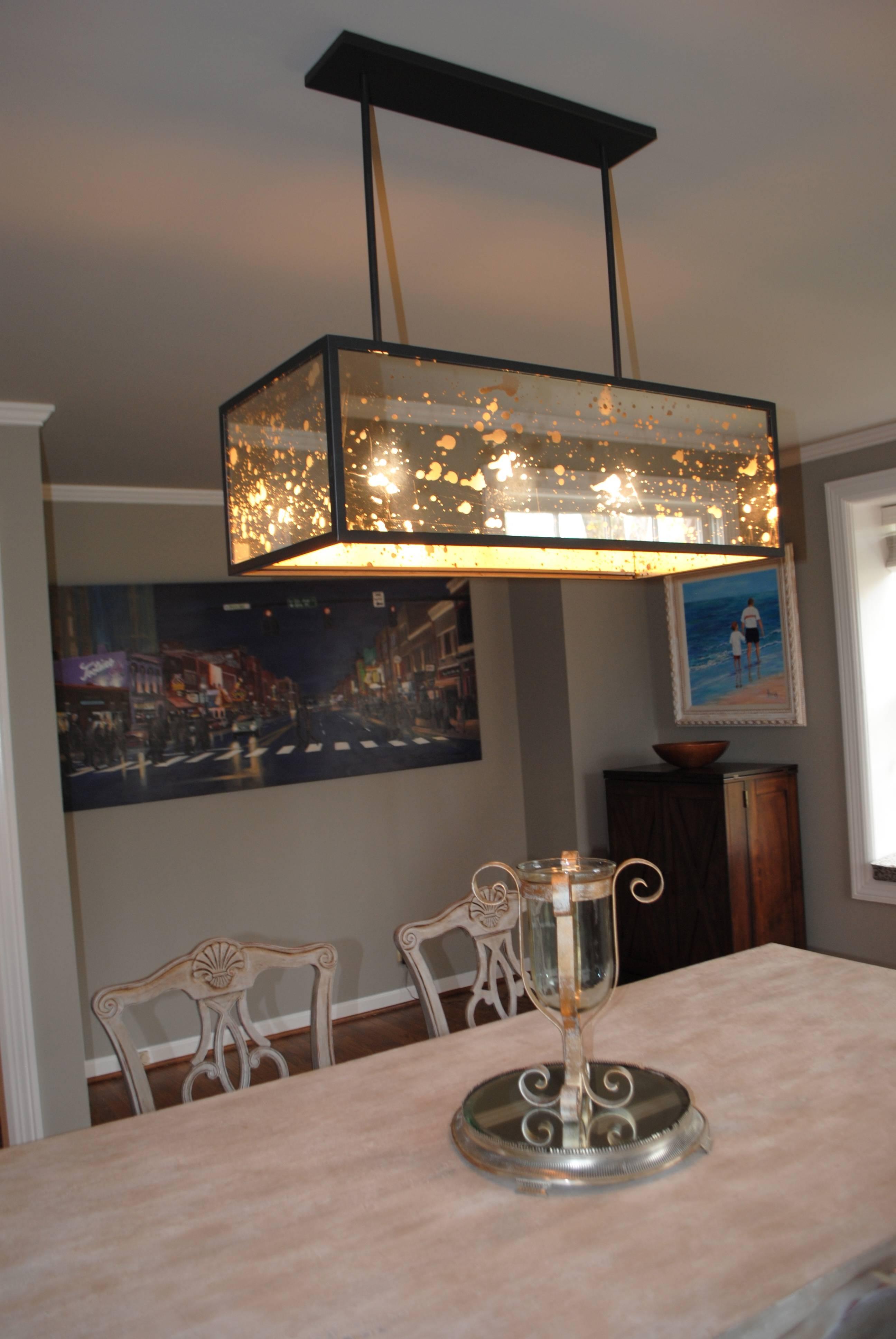 Nancesense | Blog Of Nancy Mcnulty - Part 2 regarding Mercury Glass Lighting Fixtures (Image 13 of 15)