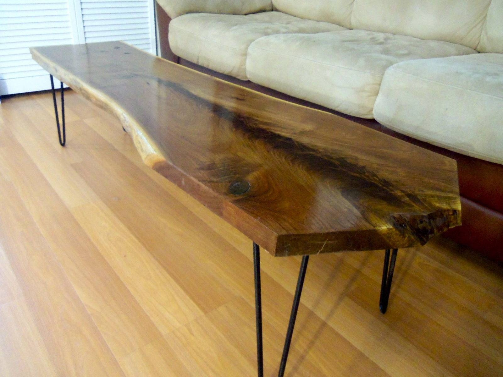 Natural Wood Coffee Table For Your Furniture - Chocoaddicts regarding Natural Wood Coffee Tables (Image 10 of 15)