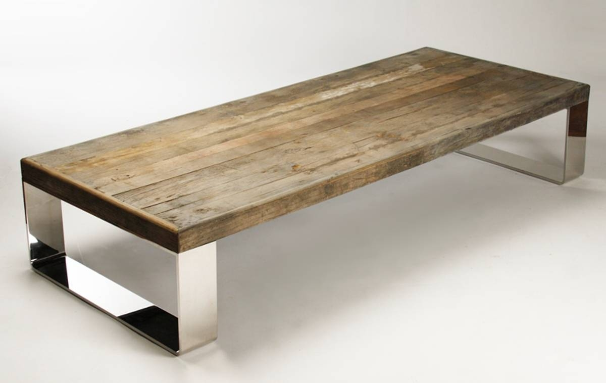 Natural Wood Eight Leg Coffee Table with Natural Wood Coffee Tables (Image 11 of 15)