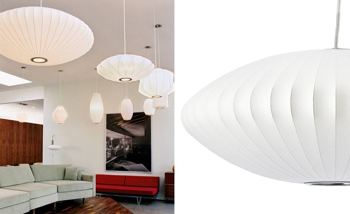 Nelson™ Bubble Lamp Saucer - Hivemodern with regard to Nelson Pendant Lights (Image 13 of 15)