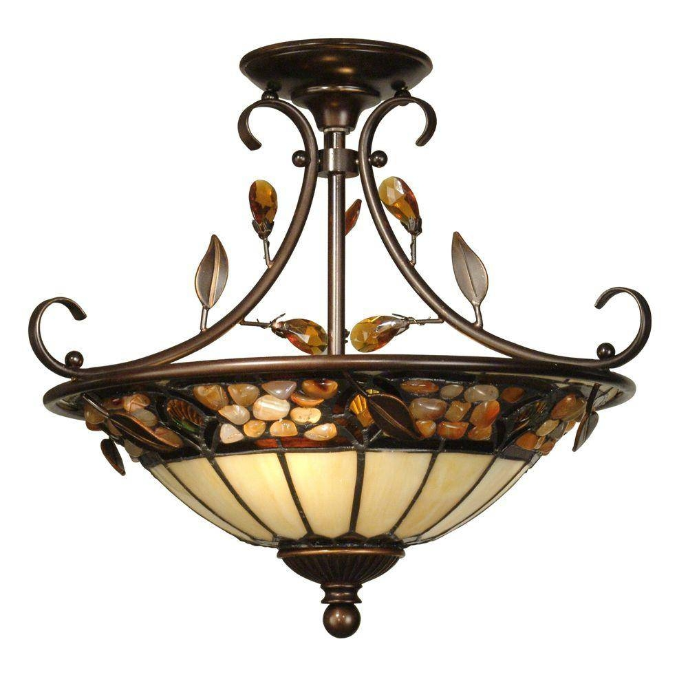 New Dale Tiffany Ceiling Lights 97 On Arts And Crafts Pendant for Arts and Crafts Pendant Lights (Image 14 of 15)