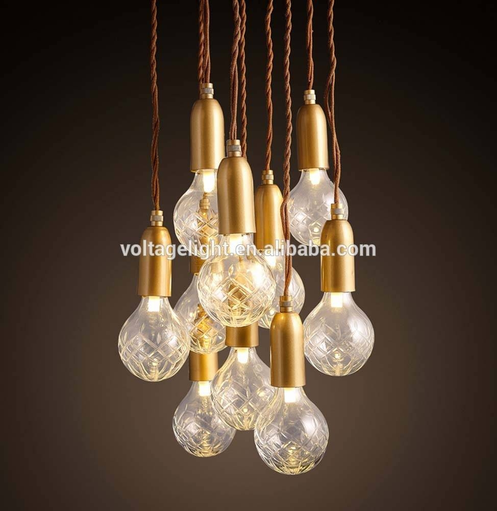 New Products Decorative Vintage Industrial Led Pendant Light throughout Murano Glass Ceiling Lights (Image 12 of 15)