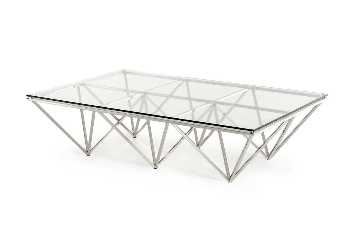 Featured Photo of Rectangle Glass Coffee Table