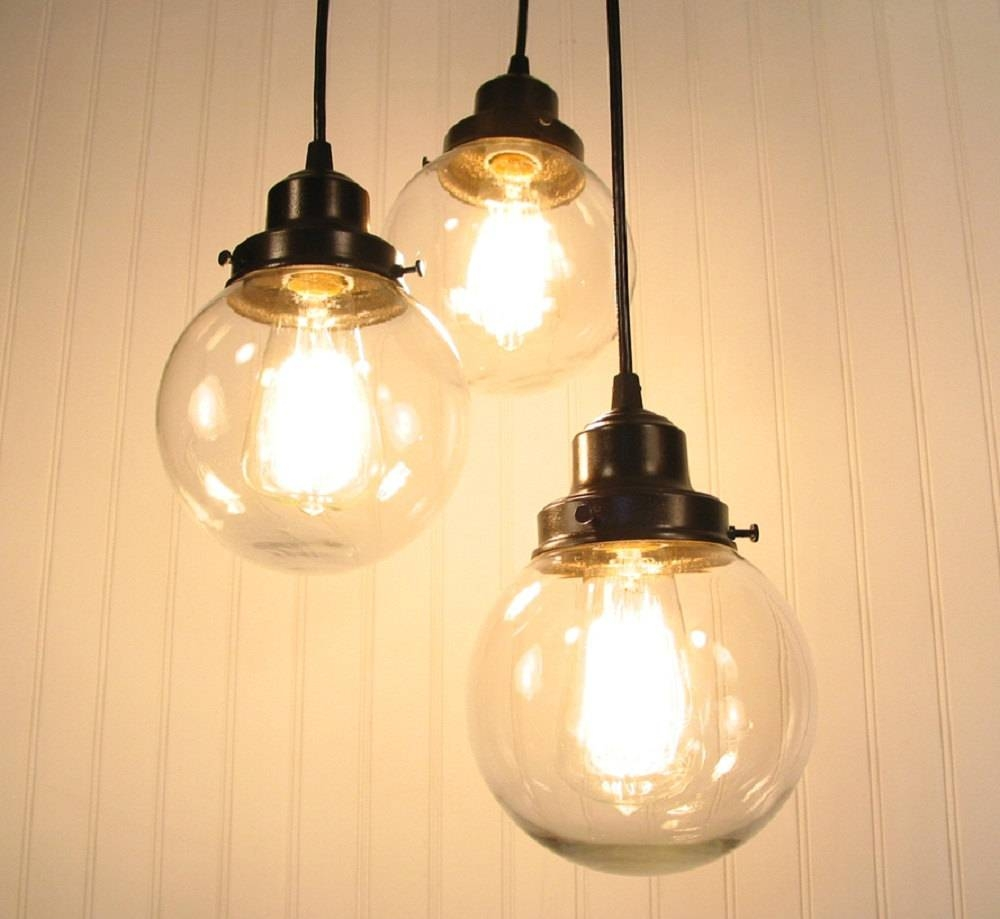 Nice Hand Blown Glass Pendant Lights Related To Room Decor inside Hand Blown Glass Lights Fixtures (Image 14 of 15)